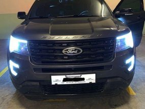 Grey Ford Explorer 2016 Manual Diesel for sale in Manila