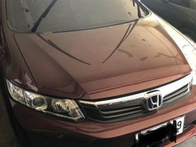 2nd Hand Honda Civic 2014 Automatic Gasoline for sale in Muntinlupa