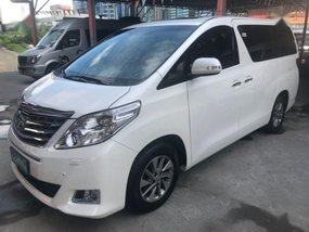 2nd Hand Toyota Alphard 2013 Van for sale in Pasig