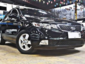Sell Black 2013 Kia Forte Sedan in Quezon City