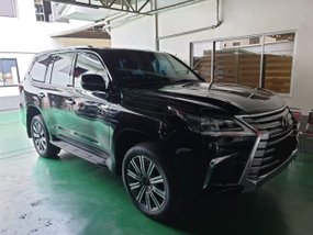Black 2017 Lexus Lx 570 bulletproof levelb6 at 8000 km for sale