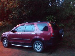 Sell 2nd Hand 2002 Honda Cr-V Automatic Gasoline at 130000 km in Baguio