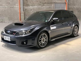 Grey Subaru Impreza Wrx 2011 Hatchback Manual Gasoline for sale in Quezon City