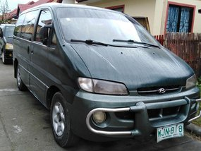 Sell Green 1999 Hyundai Starex Van in Butuan