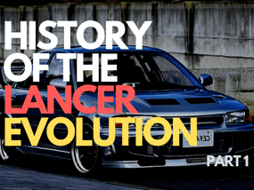 History lesson: Find out about Mitsubishi Lancer Evolution