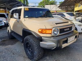 2nd Hand Toyota Fj Cruiser 2017 Automatic Gasoline for sale in Quezon City