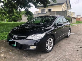 Honda Civic 2008 Manual Gasoline for sale in Muntinlupa