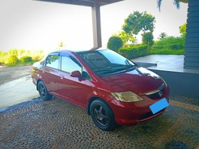Selling Red 2003 Honda City Sedan in Quezon City