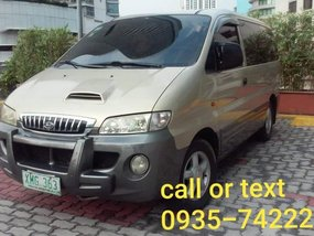 Selling Hyundai Starex 2004 Automatic Diesel in Quezon City