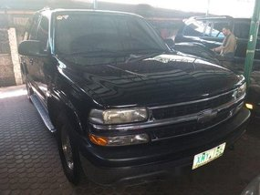 Black Chevrolet Tahoe 2003 for sale in Manila
