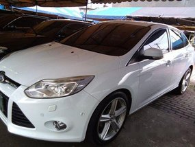 Sell White 2014 Ford Focus at 55612 km in Cainta