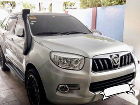 Selling 2nd Hand Foton Toplander 2016 in Quezon City