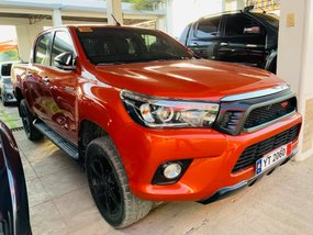 Sell Used 2017 Toyota Hilux Automatic Diesel in Isabela