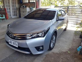 Selling Silver Toyota Altis 2015 at 52000 km in Bacoor