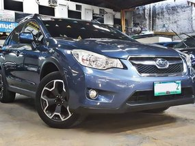 Blue 2013 Subaru XV for sale in Quezon City