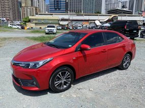 Selling Red Toyota Altis 2008 at 52000 km