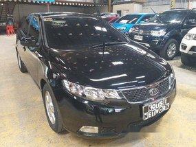 Selling Black Kia Forte 2013 Automatic Gasoline in Quezon City