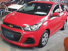 Selling Chevrolet Spark 2017 Automatic Gasoline in Quezon City