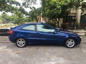 Blue Mercedes-Benz C200 2002 for sale Automatic