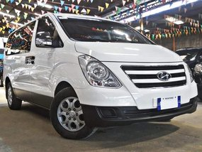 White 2017 Hyundai Grand Starex for sale in Quezon City