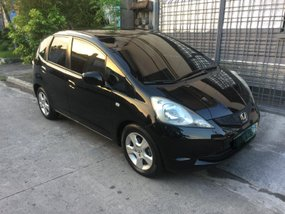 Black Honda Jazz 2010 at 69700 km for sale