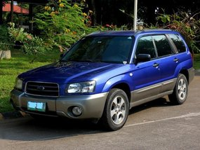 2nd Hand Subaru Forester 2004 at 119000 km for sale