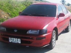 Selling Red Toyota Vios 1996 at 130000 km in Daraga