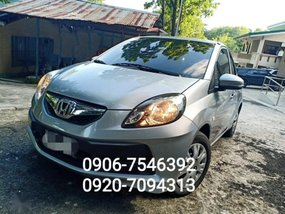 Honda Brio 2017 Automatic Gasoline for sale in Quezon City