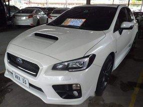 White Subaru Wrx 2016 Automatic for sale
