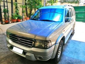 Selling Silver Ford Everest 2005 Manual Diesel in San Juan