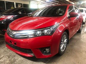 Sell Red 2017 Toyota Altis in Quezon City