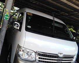 Selling Toyota Hiace 2013 Manual Diesel in Pasay