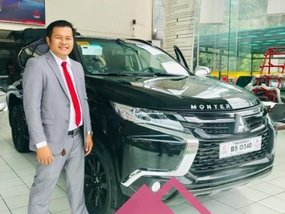 Black Mitsubishi Montero 2019 for sale in Caloocan