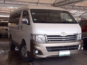 2nd Hand Toyota Hiace 2013 for sale in Manila