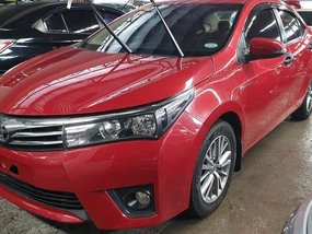 Red Toyota Altis 2017 Automatic Gasoline for sale in Quezon City
