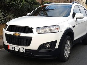 Chevrolet Captiva 2016 Automatic Diesel for sale in Quezon City