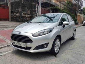 Sell Silver 2017 Ford Fiesta in Quezon City