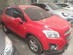 Red Chevrolet Trax 2017 at 13000 km for sale