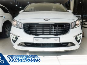 White Facelifted Kia Carnival Platinum G6 Prestige 2020 for sale in Quezon City