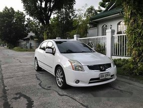 White Nissan Sentra 2013 Automatic Gasoline for sale