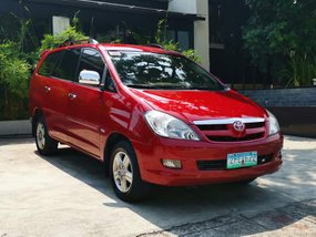 Selling Red Toyota Innova 2006 Automatic Gasoline in Candoni