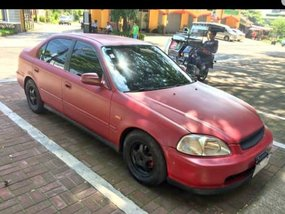 Selling Red Honda Civic 1997 in Angeles