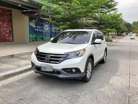 Selling White Honda Cr-V 2014 Automatic Gasoline at 41000 km
