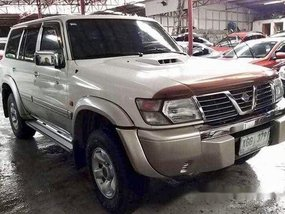 Sell White 2002 Nissan Patrol Automatic Diesel at 138000 km