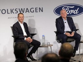 Ford and Volkswagen to work together in building EVs and many other vehicles