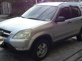 Silver Honda Cr-V 2001 for sale in Manila