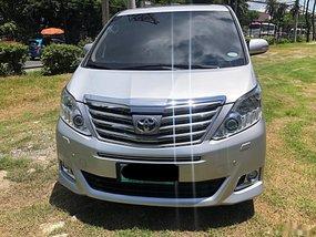 Silver Toyota Alphard 2012 for sale in Manila