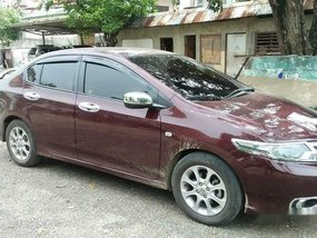 Sell Red 2014 Honda City at Manual Gasoline at 29000 km