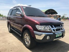 Selling Red Isuzu Sportivo 2012 Manual Diesel in Manila