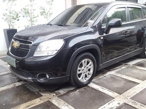 Black Chevrolet Orlando 2012 at 46306 km for sale